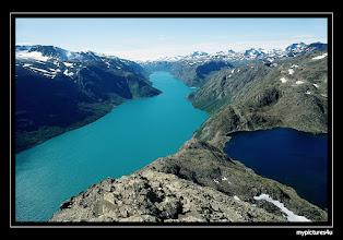 Photo: Lake Gjande and Bessvatnet, Norway