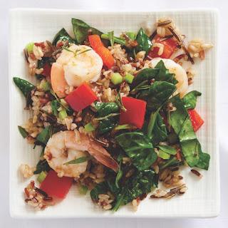 Nutrient-Dense Wild Rice Salad with Shrimp Recipe