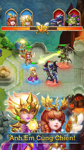 Castle Clash: Bang Chiu1ebfn - Gamota 1.4.1 screenshots 4