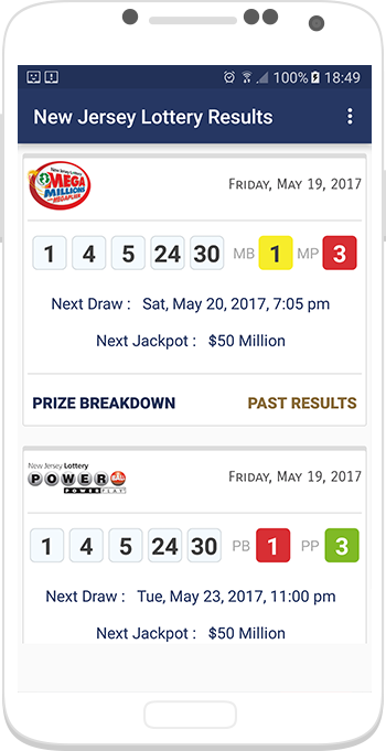 New Jersey Deals Lotto Results pick 3 4 evening event Crossword