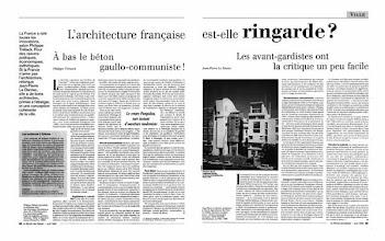 Photo: Le Monde des Débats, 2000, double page