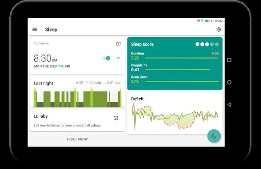 Sleep as Android: Sleep cycle tracker, smart alarm  screenshots 14
