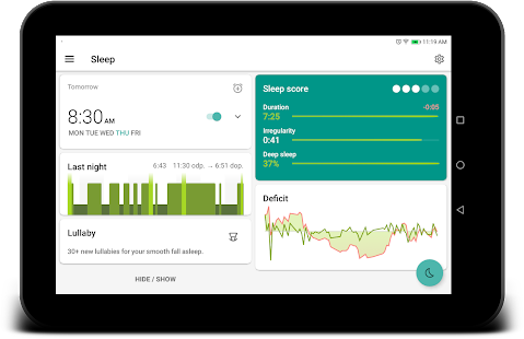Sleep as Android: Sleep cycle tracker, smart alarm Screenshot