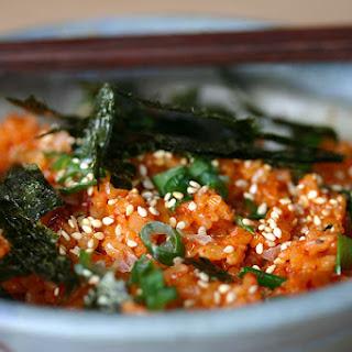Kimchi Fried Rice (kimchi Bokkeumbap).