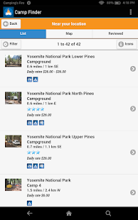 Camp Finder - Campgrounds- screenshot thumbnail