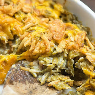 Green Bean Casserole With Bacon Recipes.