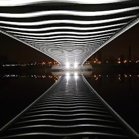 Troja Bridge - 03 by Drahomír Škubna - Buildings & Architecture Bridges & Suspended Structures ( cz, bridge, prague )