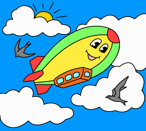Coloring pages for children : transport  screenshots 23