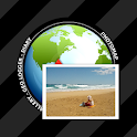 PhotoMap Gallery - Photos, Videos and Trips icon