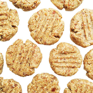 4-ingredient Raw Almond Butter Cookies.