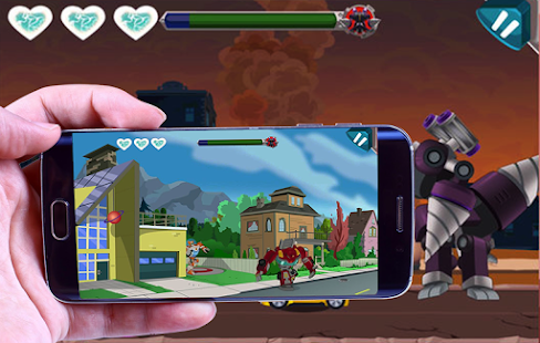 New Transformers Rescue Bots Dash 3D - náhled