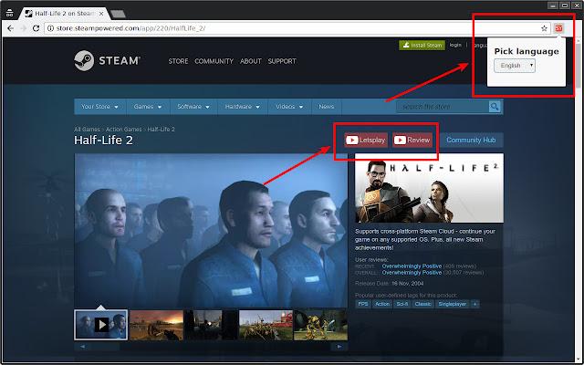 Steam Youtube Links