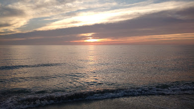 Photo: sunset on the Gulf