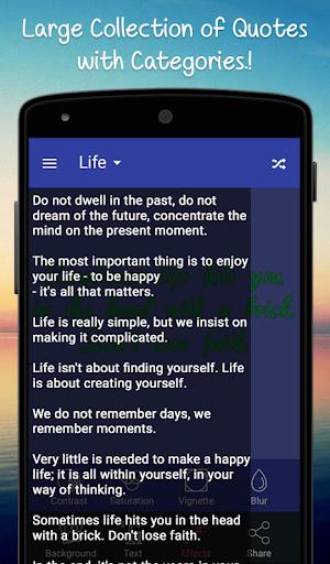 Creative Quotes Maker Book - Quotes Creator App screenshots 12