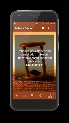 Patience Quotes screenshot 13
