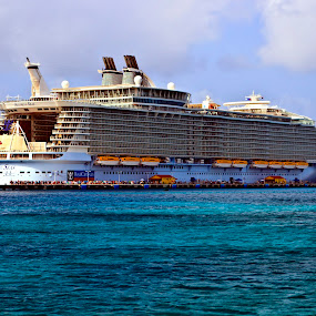 Allure of the Seas by Brook Kornegay - Transportation Boats ( ship, cruise, caribbean, allure of the seas,  )