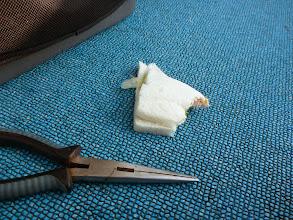 Photo: バタバタして、サンドウイッチ落ちてます。 ・・・ちゃんとフーフーして食べて下さい!