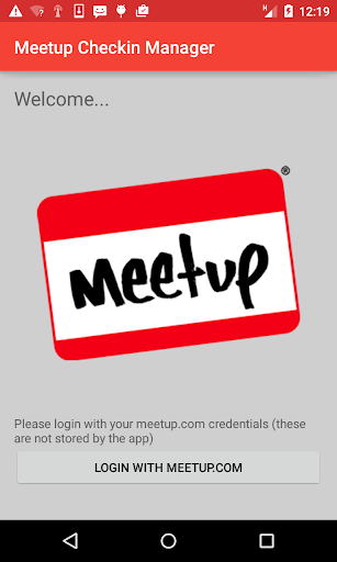 Checkin manager for Meetup.com