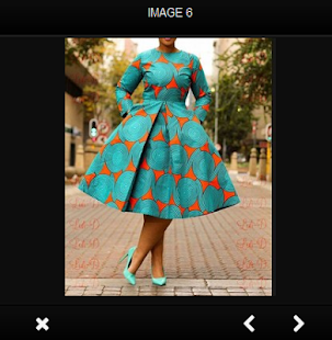 Africké módy 2018 - náhled