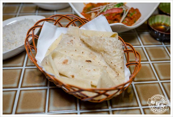 瑪哈印度餐廳印度甩餅