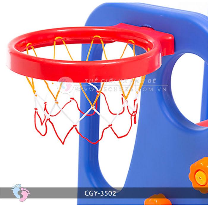 Cầu trượt bóng rổ cho bé YGC-3502 8