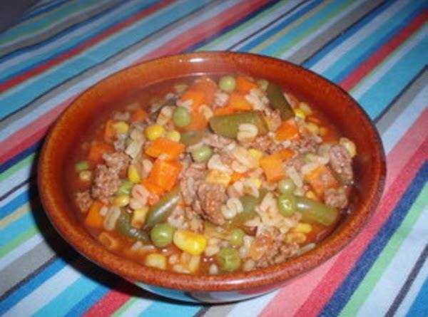 Alphabet Noodle Soup Recipe