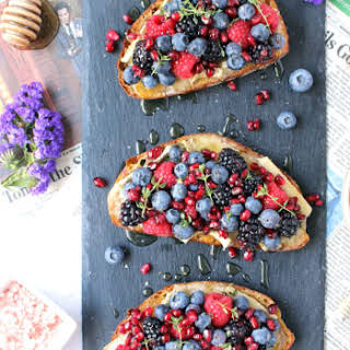 10-Minute Brie & Berry Toasts.