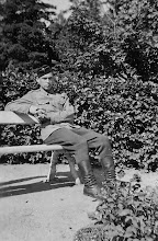 Photo: Olli Bygden lomalla 1943
