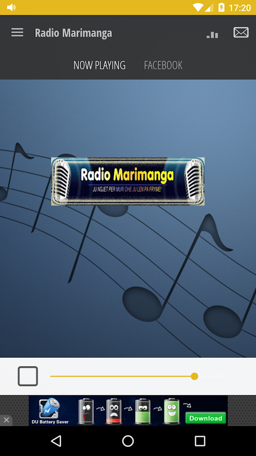 Radio Marimanga- screenshot