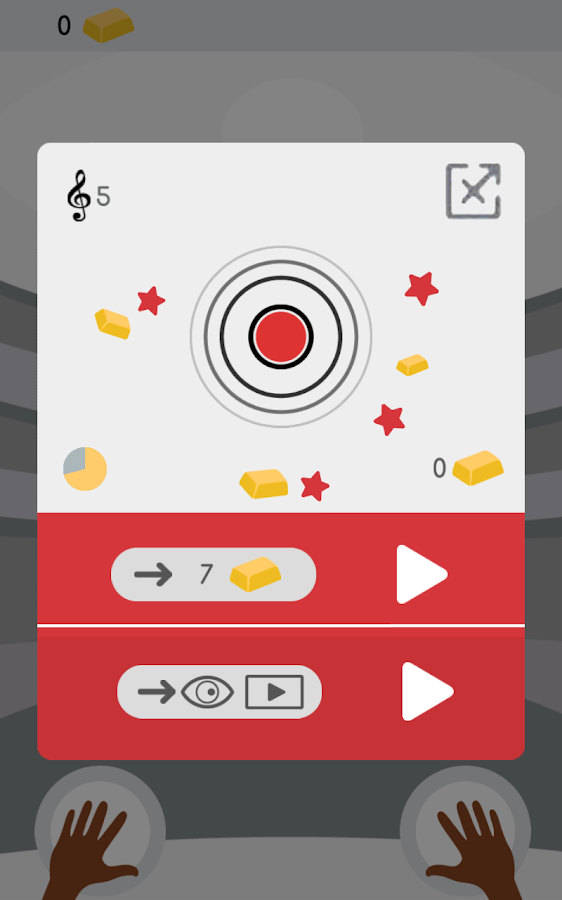 Percussion: rhythmic tap tap- screenshot