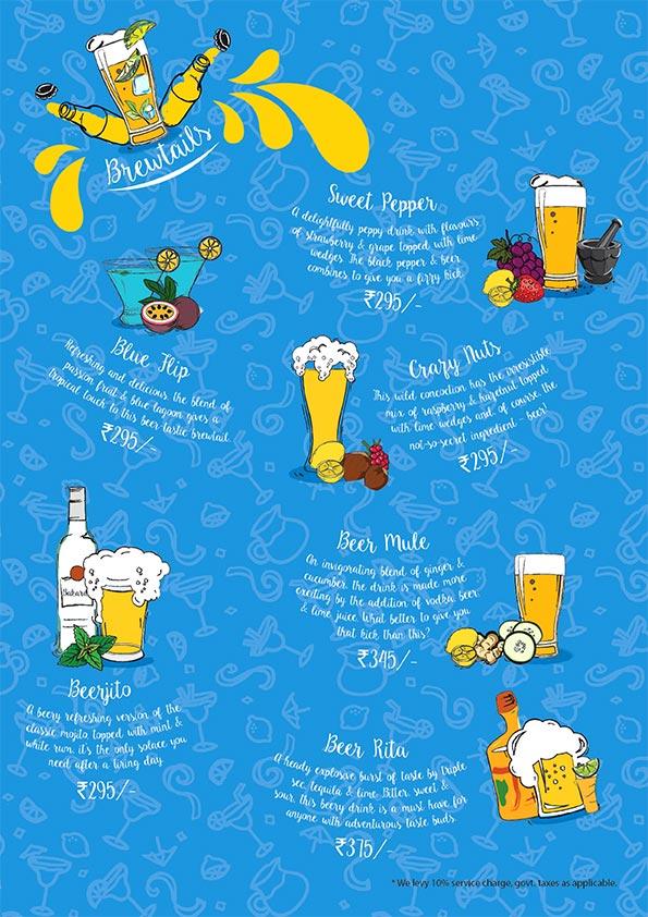 The Beer Cafe menu 7