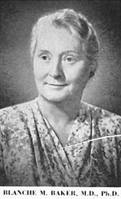 r. Blanche Baker