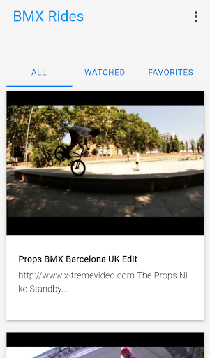 BMX Rides Video screenshot 1