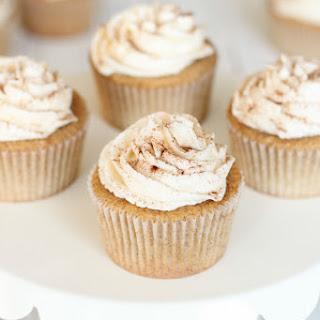 Whole Wheat Chai Cupcakes.