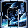 Space Craft Launcher Theme: Spaceship Background APK icon