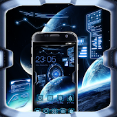 Space Craft Launcher Theme: Spaceship Background