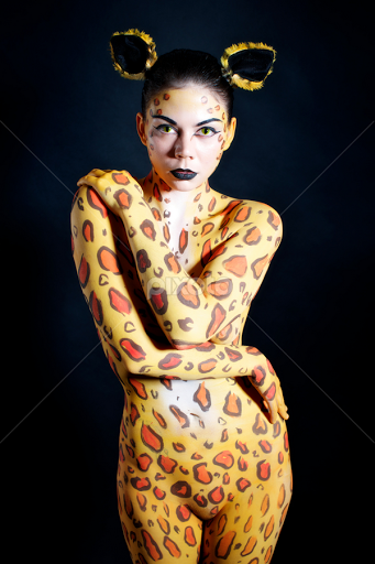 For tiger body paint agree
