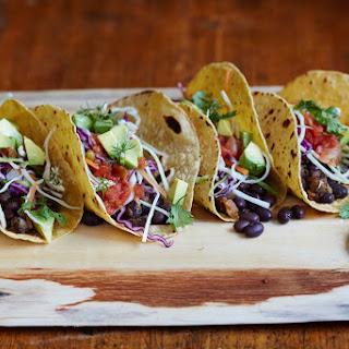 10-Minute Black Bean Tacos