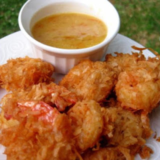 Coconut Beer Shrimp With Sweet and Tangy Sauce.