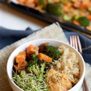 Vegetarian Brown Rice Bowl.