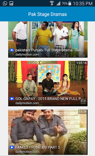 Pakistani Stage Shows Videos