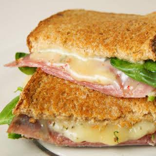 Salami Cheese Sandwich Recipes.