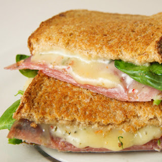 Grilled Cheese And Salami Sandwich Recipes.
