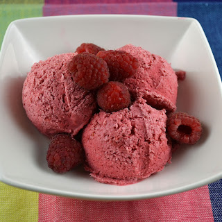 Frozen Raspberry Mousse.