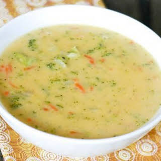 Lose Weight. Low-calorie soup.