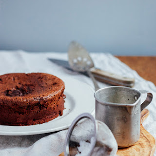 Flourless Chocolate Cake With Ginger And Sea Salt + Redefining Success
