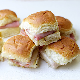 Baked Ham and Cheese Mini Sandwiches Recipe