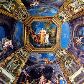 Vatican by Rita Uriel - Buildings & Architecture Other Interior ( ceiling, rome, art, painting, religious )