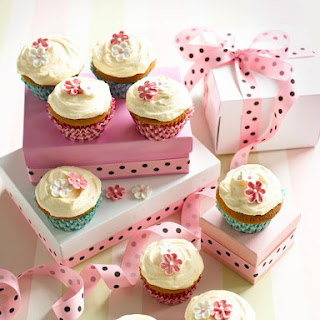 Classic Cupcakes with Buttercream Icing.