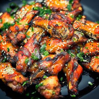 8. Sticky Honey Soy Chicken Wings.